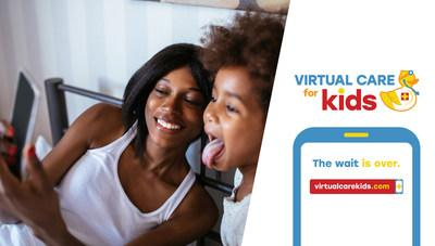 Virtual Care for Kids gives patients the same high-quality pediatric care all through an on-demand, face-to-face conversation minimizing the typical in-clinic wait times and eliminating the drive time altogether. Virtual Care for Kids®. The wait is over. virtualcarekids.com.
