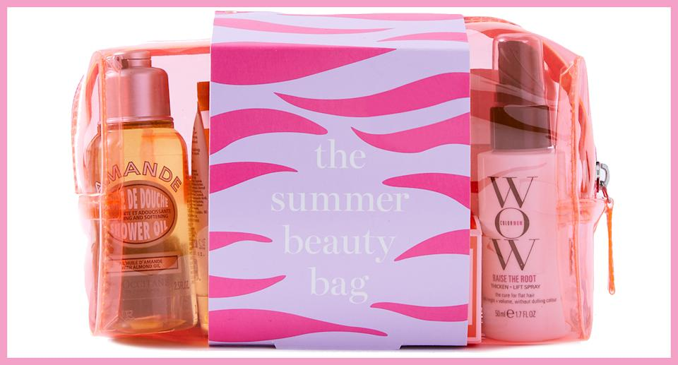 Claim your M&S Summer Beauty Bag worth £140 for just £20 when you spend over £30. (Marks and Spencer)
