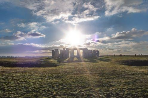 """<span class=""""caption"""">Cat's Brain long barrow is near the more famous Stonehenge (pictured) but predates it by hundreds of years.</span> <span class=""""attribution""""><a class=""""link rapid-noclick-resp"""" href=""""https://www.shutterstock.com/download/success?src=SV6el9XseK1ZTnUiyLe5SA-2-28"""" rel=""""nofollow noopener"""" target=""""_blank"""" data-ylk=""""slk:Shutterstock"""">Shutterstock</a></span>"""