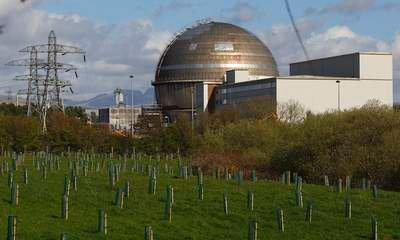 Sellafield Nuclear Workers Told To Stay Home
