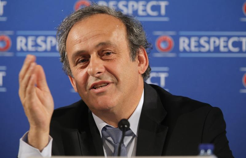 "FILE - In this Saturday, Feb 22, 2014 file photo UEFA President Michel Platini speaks during a press conference, one day prior to the UEFA EURO 2016 qualifying draw at the Acropolis Convention Centre in Nice, southeastern France. Seeking to bolster national team football amid the rampant success of club competitions, UEFA's 54 member countries voted Thursday to create the Nations League. UEFA boosted the new event by guaranteeing it would feed into qualifying for the 2020 European Championship. It could later be incorporated into European qualifying for the 2022 World Cup. ""This is a very important decision for the future of football at the level of national teams,"" UEFA President Michel Platini said Thursday after the unanimous vote at European football's annual congress.. (AP Photo/Lionel Cironneau, File)"
