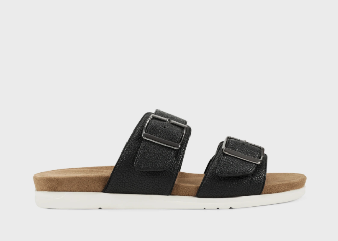 Hamden Slip-On Sandals. Image via Aerosoles.