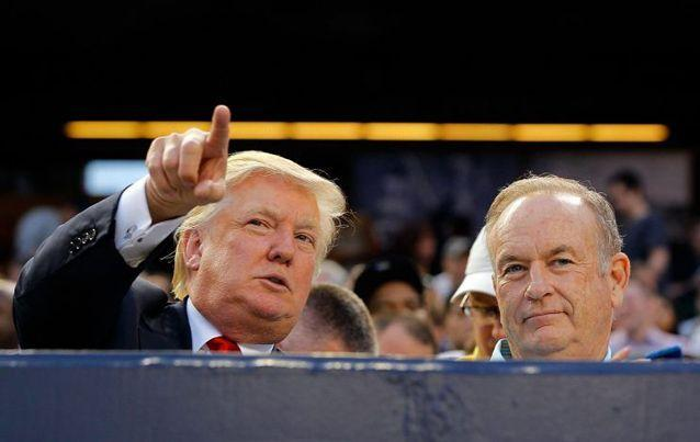 President Donald Trump has defended Fox News host Bill O'Reilly amid several allegations of sexual harassment. Source: Getty