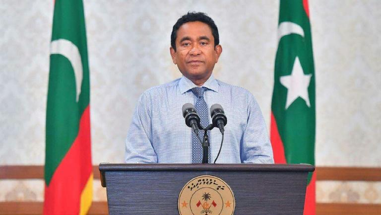 Yameen had already conceded defeat in the Maldives' September 23 poll