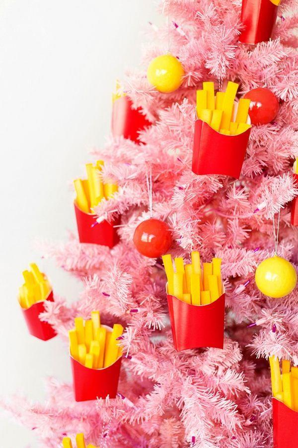 """<p>With a little craft foam and spray paint, you can create one of the most unique handmade ornaments we've ever seen. </p><p><em>Get the tutorial at <a href=""""https://studiodiy.com/gifts-for-your-besties-diy-french-fries-ornament/"""" rel=""""nofollow noopener"""" target=""""_blank"""" data-ylk=""""slk:Studio DIY"""" class=""""link rapid-noclick-resp"""">Studio DIY</a>.</em></p><p><a class=""""link rapid-noclick-resp"""" href=""""https://www.amazon.com/GoTo-Foam-Height-Upholstery-Cushion/dp/B07S6ZY5J9?tag=syn-yahoo-20&ascsubtag=%5Bartid%7C10072.g.34443405%5Bsrc%7Cyahoo-us"""" rel=""""nofollow noopener"""" target=""""_blank"""" data-ylk=""""slk:SHOP FOAM"""">SHOP FOAM</a></p>"""