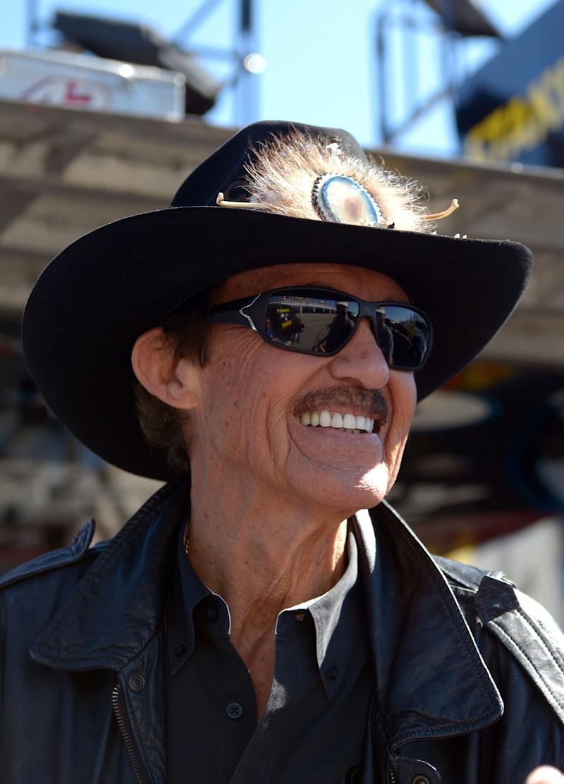 'The King' returns to track after mourning wife
