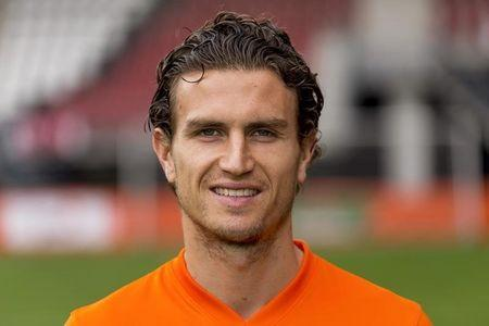 Daryl Janmaat of the Netherlands poses for a portrait in Alkmaar