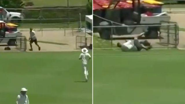What a catch! Image: Cricket Network