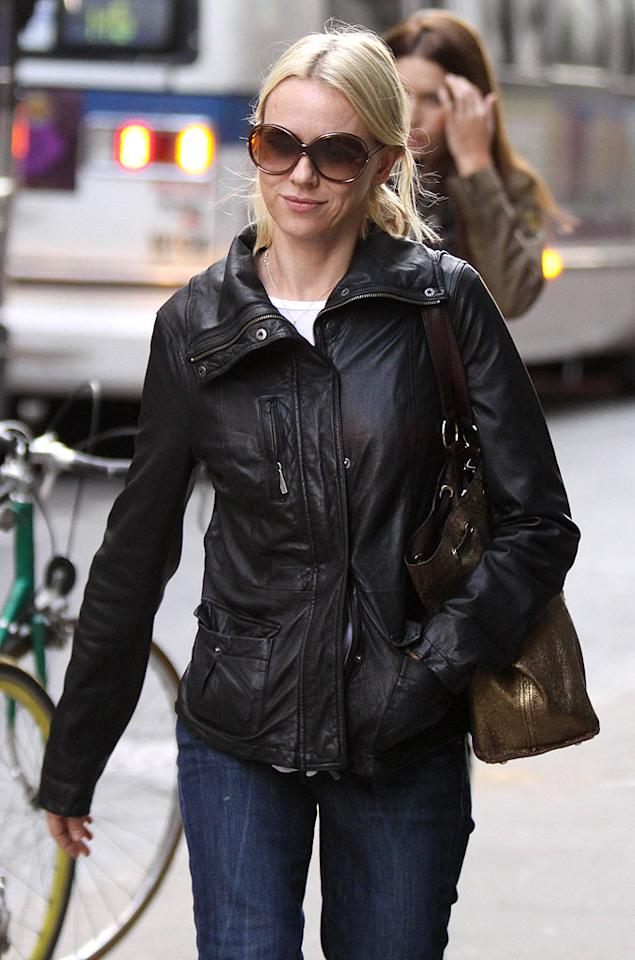 """In other movie news, this week Naomi Watts emerged atop Forbes' list of actresses who provide studios the biggest return on their investment. Watts was calculated to have brought in $44 for every $1 she was paid for her last three films. Jose Perez/<a href=""""http://www.splashnewsonline.com"""" target=""""new"""">Splash News</a> - October 6, 2009"""