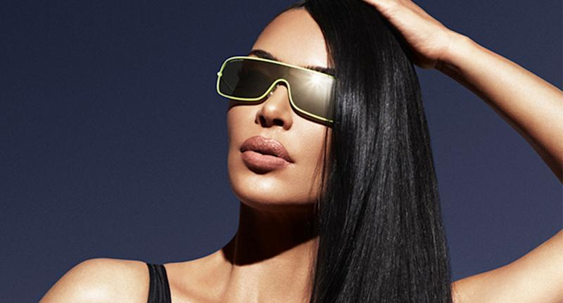 Kim Kardashian has been branded a hypocrite over the so-called lookalike sunglasses. [Photo: Carolina Lemke]