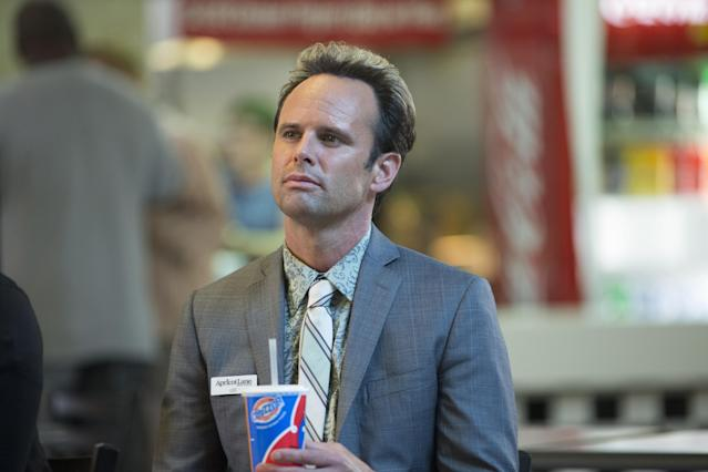 Walton Goggins in the series finale of <em>Vice Principals.</em> (Photo: Fred Norris/HBO)
