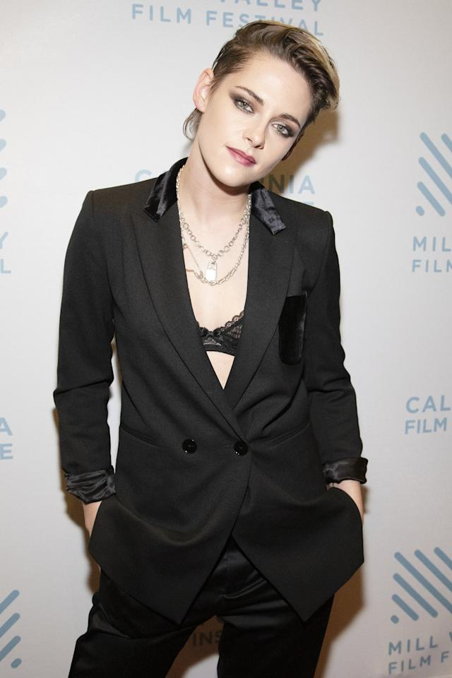 """<a href=""""https://people.com/movies/kristen-stewart-talks-to-ghosts-really-sensitive-to-energy/"""">In a 2019 chat with</a><em>Vanity Fair,</em>the actress opened up about her beliefs.  """"I talk to them,"""" Stewart said of ghosts. """"If I'm in a weird, small town, making a movie, and I'm in a strange apartment, I will literally be like, 'No, please, I cannot deal. Anyone else, but it cannot be me.' Who knows what ghosts are, but there is an energy that I'm really sensitive to. Not just with ghosts, but with people. People stain rooms all the time."""""""