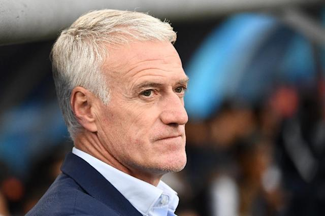 France Didier Deschamps is bidding to join an elite band to have won the World Cup as a player and coach (AFP Photo/FRANCK FIFE)