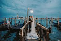 <p>Along with the shots of newlyweds, the contest winners feature images from weddings, engagements, honeymoons, couple shoots, and vow renewals. (Photo: Junebug Weddings/Caters News) </p>