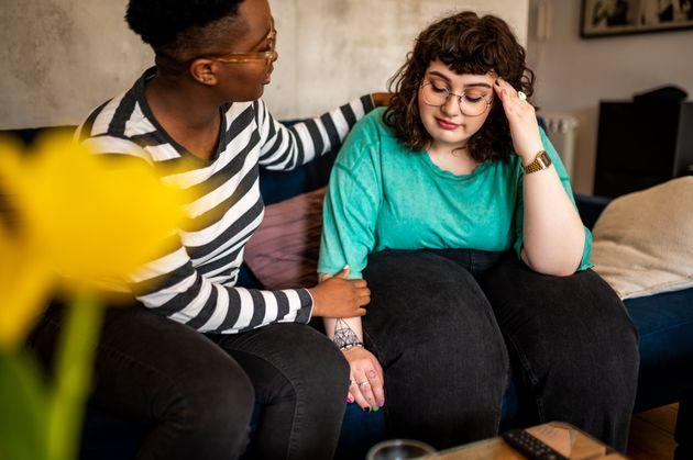 Validating a person's experience can be a supportive way to help someone struggling with long-haul COVID-19. (Photo: MStudioImages via Getty Images)