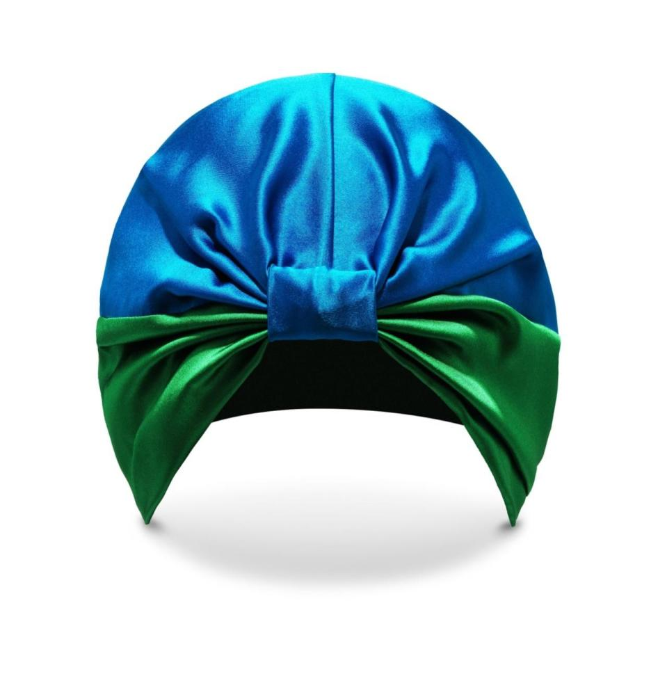 "<p>This 100 per cent silk turban is a god send for hair. During the night, while you toss and turn, locks have a habit of getting matted and frizzy but bundle your hair up under this fetching number and you'll wake with a much more manageable mane. </p><p><a href=""http://www.silkelondon.com/"" rel=""nofollow noopener"" target=""_blank"" data-ylk=""slk:Buy here."" class=""link rapid-noclick-resp"">Buy here. </a></p>"