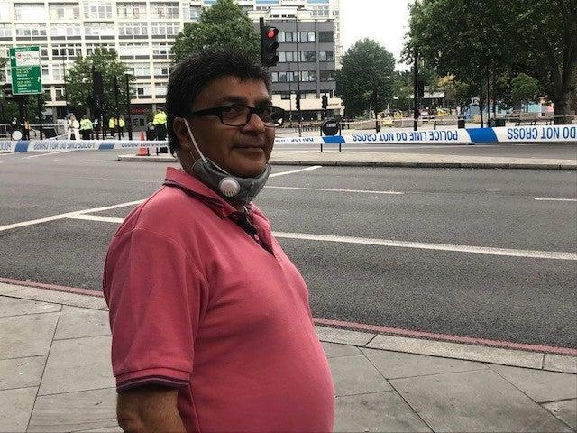 Dad-of-three Kiran Patel says 'I feel lucky to be alive' (John Dunne)