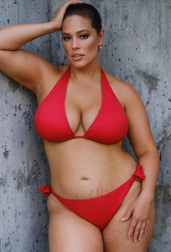 Ashley Graham X Swimsuits For All Elite Red Bikini (Photo: Swimsuits for All)