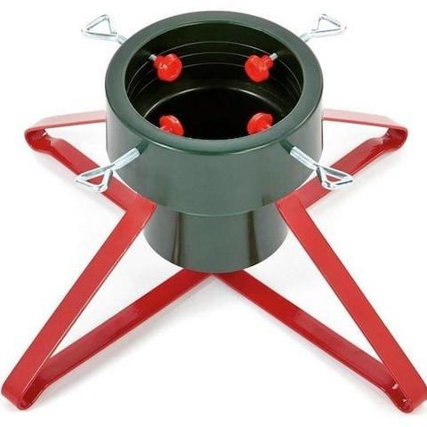 Premier Decorations Christmas Tree Stand - Credit: Argos
