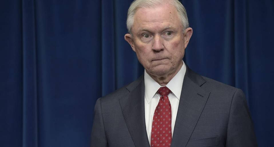 Attorney General Jeff Sessions is focusing on violent crime, not corporate crime. Susan Walsh/AP