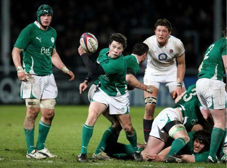 FILE PHOTO - Rugby Union - England U20 v Ireland U20 RBS Under 20 Six Nations 2010 - Kingsholm, Gloucester - 26/2/10 John Cooney - Ireland U20 in action Mandatory Credit: Action Images / Andrew Couldridge