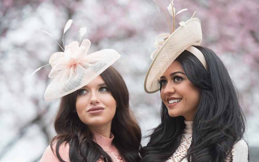 Hats at Aintree 2016 - Credit: Paul Grover for the Telegraph