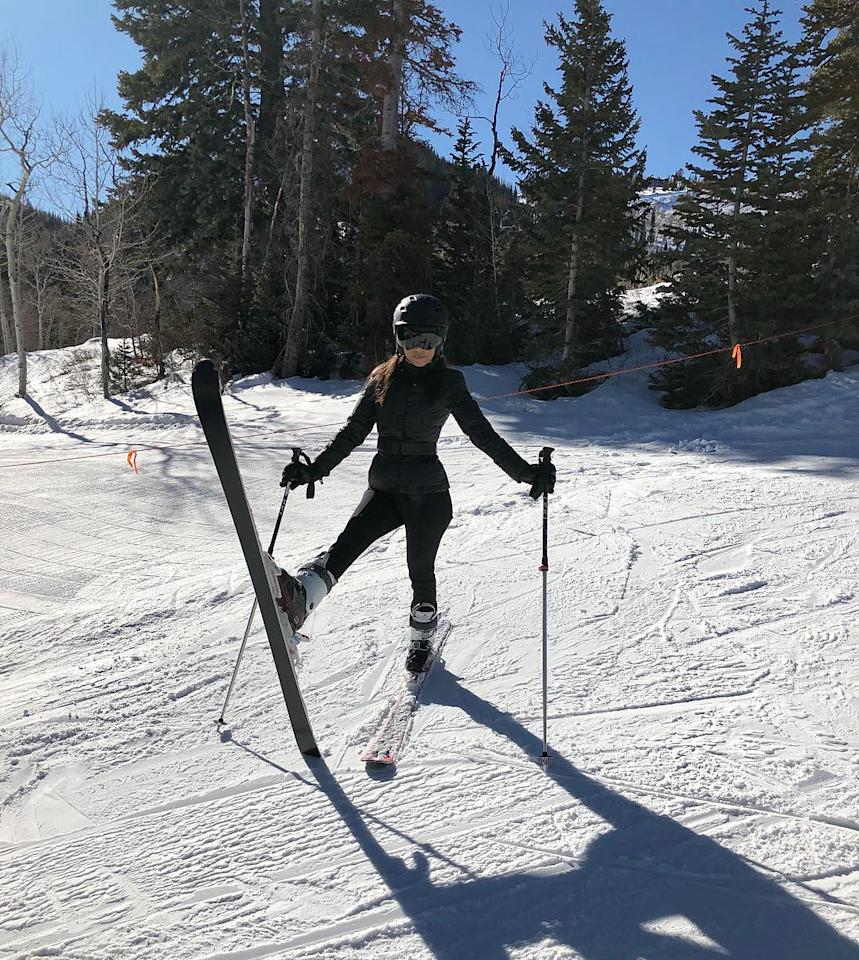 "<p>Kardashian gave a peek at her ""morning stretch,"" before hitting the ski slopes at Park City, Utah, where she's vacationing with her three kids. According to <a rel=""nofollow"" href=""http://www.tmz.com/2018/01/07/kourtney-kardashian-skiing-kids-children-park-city-utah/"">TMZ</a>, Kardashian's boyfriend, Younes Bendjima, did not make the trip. (Photo: <a rel=""nofollow"" href=""https://www.instagram.com/p/BdnhdBZDLzS/?hl=en&taken-by=kourtneykardash"">Kourtney Kardashian via Instagram</a>) </p>"