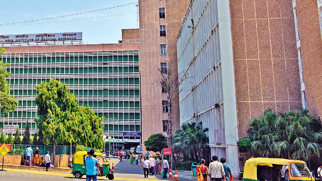 """""""Lets Talk"""", a helpline portal, has been launched by AIIMS psychiatric division and resident doctors' association so that doctors can share their problems."""