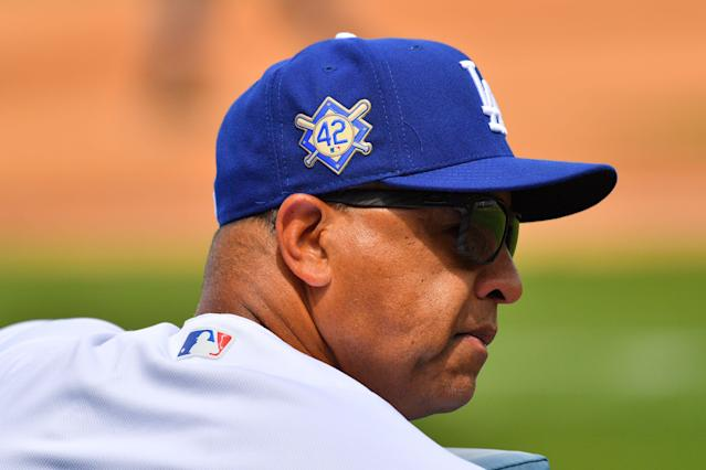 Dave Roberts learned about Jackie Robinson from his father, who resonated with Robinson's experience. (Getty Images)
