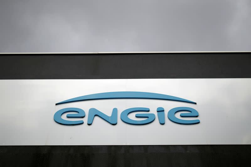 FILE PHOTO: Logo of French gas and power group Engie