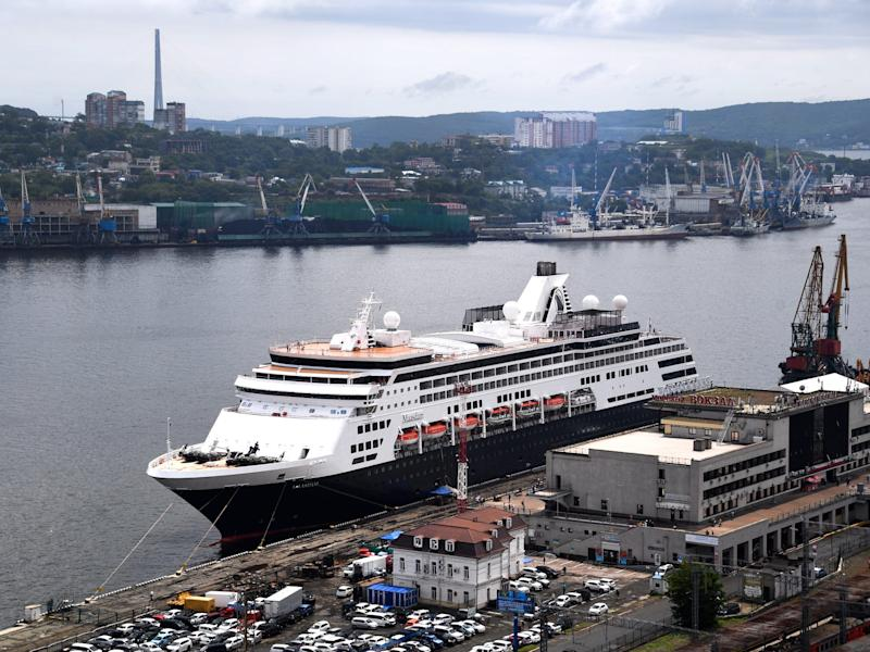 Holland America Maasdam in 2019.
