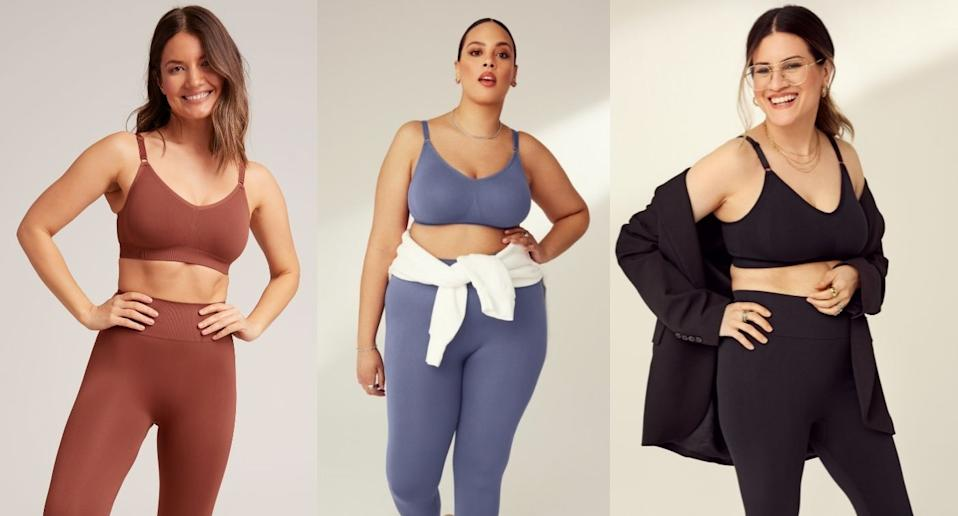 We tried Knix's Good to Go Seamless Leggings and Bra.