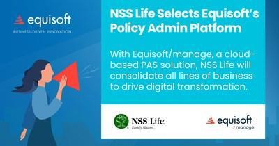 NSS Life chooses Equisoft (CNW Group / Equisoft)
