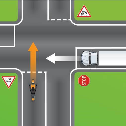 The quiz posted by Queensland Department of Transport and Main Roads