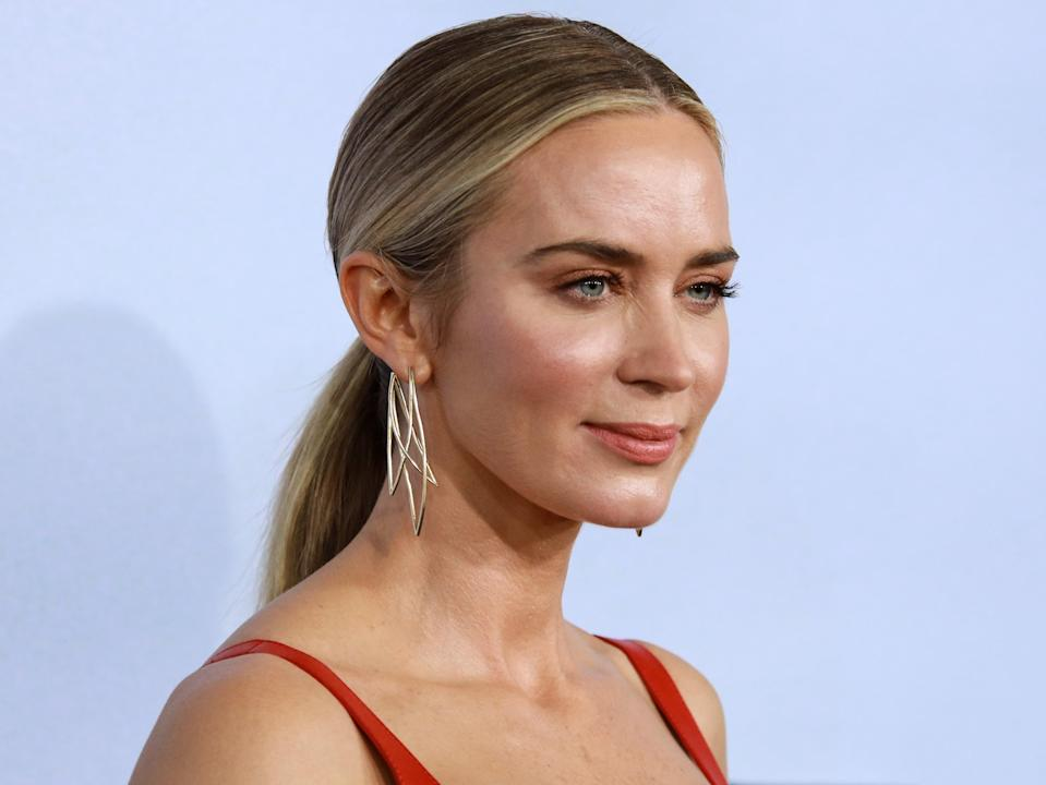 <p>Emily Blunt attends 'A Quiet Place Part II' World Premiere at Rose Theater, Jazz at Lincoln Center on 8 March, 2020 in New York City</p> (Getty Images)