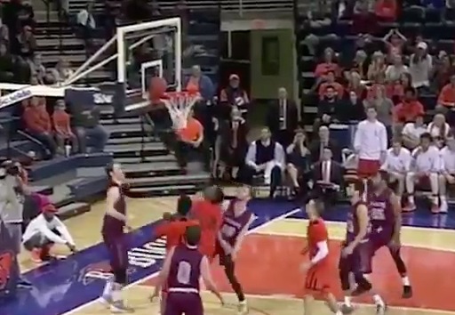 Bucknell completes insane double-digit comeback with less than a minute to play against Colgate