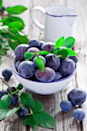 """<p>Plums are rich in antioxidant phenols, but try to find locally grown plums as they're way better taste-wise. """"There's a big difference between plums picked when they're ripe – sweet and juicy –and the ones you buy at the supermarket, which are often tasteless or sour!"""" Shona explains. </p><p><b>Ramp-up your recipe:</b><br></p><p>For a healthy dessert stone and chop fresh plums into quarters, then top with natural yoghurt and a drizzle of honey.</p><p>Make beef and plum stew – an ideal slow cooker recipe for autumn.<br></p><p><i>[Photo: Getty]</i></p>"""