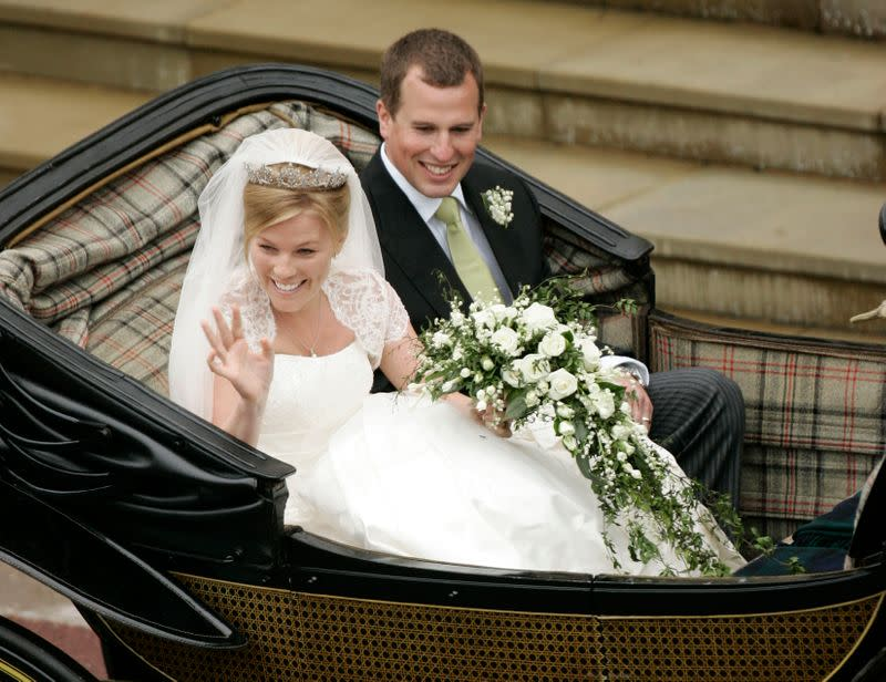 Queen's grandson Peter Phillips and Canadian wife Autumn to divorce