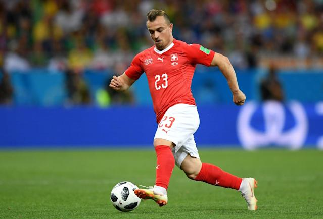 World Cup 2018: Xherdan Shaqiri backs Switzerland to be surprise package in Russia