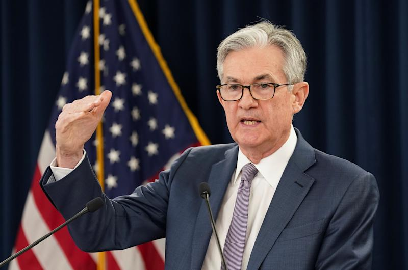 US Federal Reserve chairman Jerome Powell. (Kevin Lamarque/Reuters)