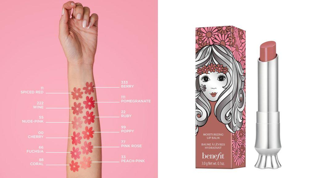 ▲benefit 熱吻加州水唇膏 3g NT$800 #55 NUDE PINK。(圖/benefit)