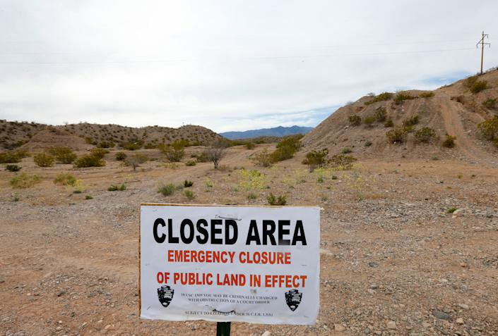 The federal Bureau of Land Management temporarily closed public lands in Nevada in 2014 when it attempted to round up rancher Cliven Bundy's cattle that he'd been illegally grazing on public lands for two decades. (Photo: George Frey via Getty Images)