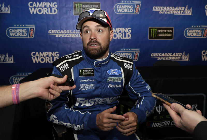 NASCAR Stenhouse Out Auto Racing