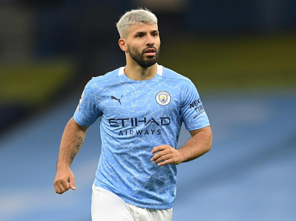 Manchester City striker Sergio Aguero (Getty Images)