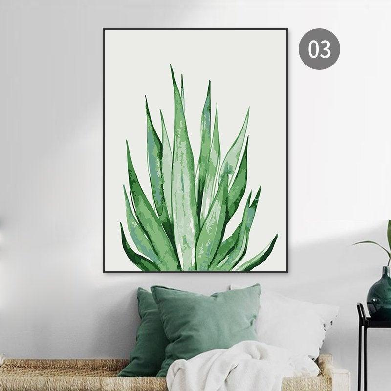 <br><br><strong>ColourLifeFinds</strong> Paint by number kit Agave plant, $, available at