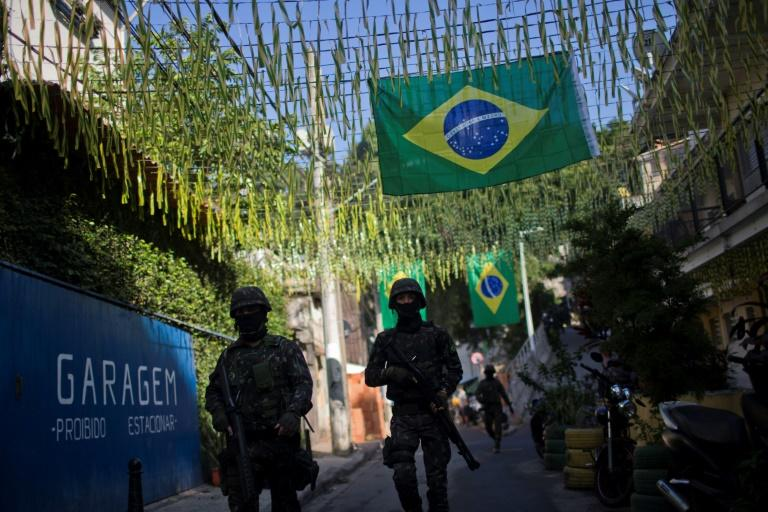 Brazil's second biggest city Rio de Janeiro, which hosted the Olympics in 2016, is suffering from a cocktail of surging violent crime and financial disarray, with troops patrolling impoverished neighborhoods known as favelas