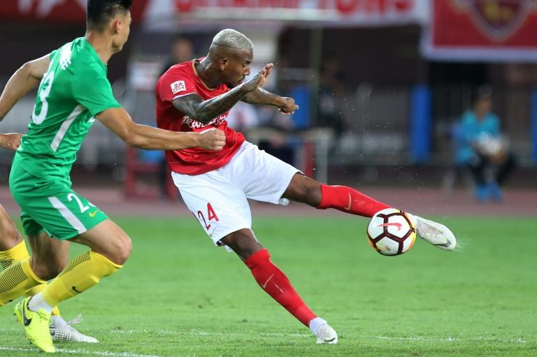 Anderson Talisca has plundered 11 goals in eight games since joining Guangzhou Evergrande in the Chinese Super League
