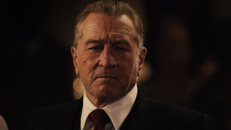 Robert De Niro in 'The Irishman'. (Credit: Netflix)