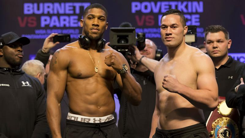 Anthony Joshua vs. Joseph Parker: Tale of the tape