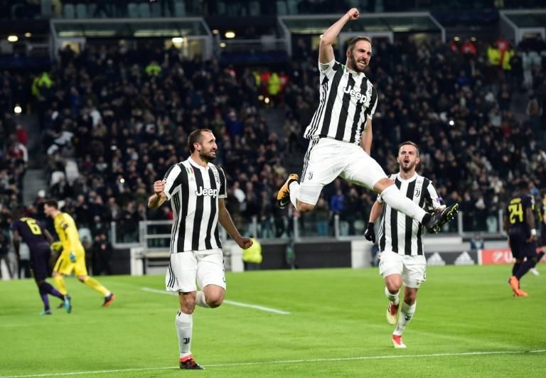 Juventus took control thanks to Higuain's double, but the striker later missed a penalty